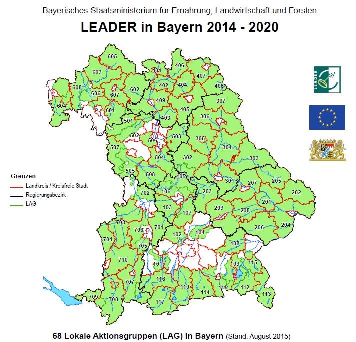 Leader In Bayern Lag Chiemgauer Alpen